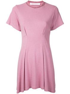 расклешенное платье Eckhaus Latta