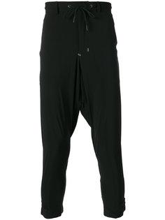 спортивные штаны с заниженным шаговым швом Y-3