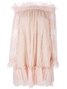 кружевное платье шифт Alexander McQueen