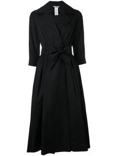 платье из поплина с запахом Max Mara