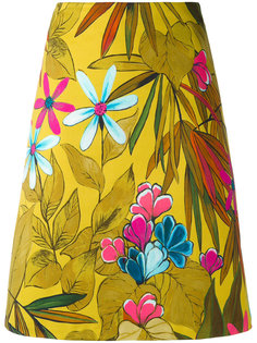 юбка А-образного силуэта с рисунком Eggs