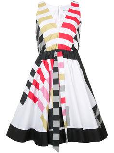 elasticated waist flared dress Milly