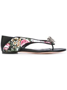 декорированные сандалии Nappa Alexander McQueen
