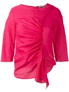 блузка с рюшами Hache