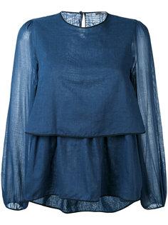 многослойная блузка Odeeh