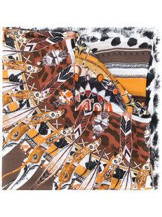 printed scarf Roberto Cavalli