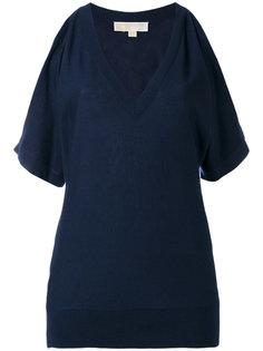 блузка с открытыми плечами Michael Kors