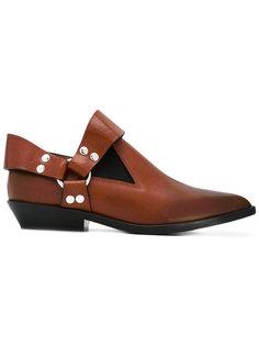 ботинки с заостренным носом Mm6 Maison Margiela