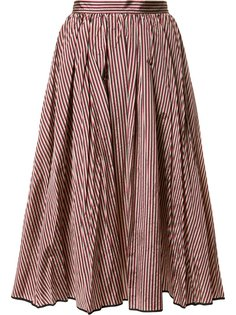 flared stripe skirt  Tome