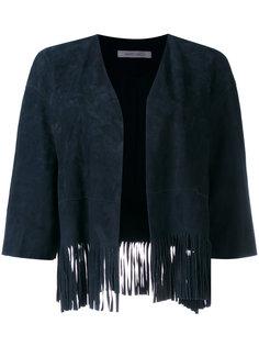 пиджак с бахромой  Simonetta Ravizza