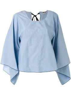 блузка мешковатого кроя Hache