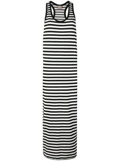 полосатое платье Laneus