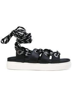 сандалии со шнуровкой Nº21