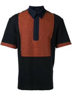 рубашка-поло с необработанными краями Consistence