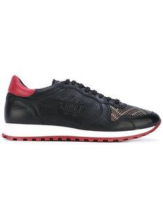 кроссовки с заклепками Roberto Cavalli