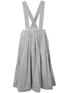 striped shoulder strap skirt  Comme Des Garçons Comme Des Garçons