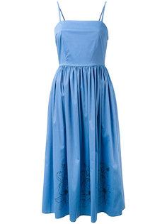 платье с отделкой в форме цветов Eggs