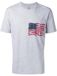 футболка с принтом флага Parajumpers