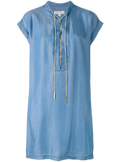 платье шифт с цепочной  шнуровкой  Michael Kors