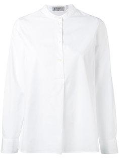 рубашка с воротником-стойкой Alberto Biani