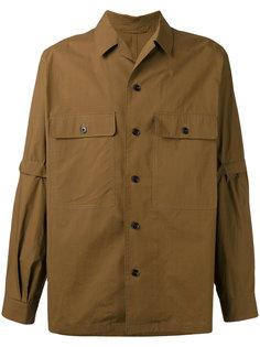 рубашка со съемными рукавами Lemaire