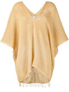 свитер с укороченными рукавами Forte Forte