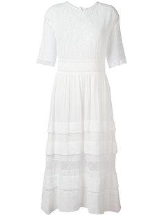 long embroidered dress Masscob