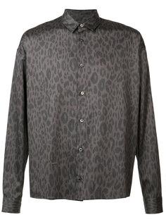 leopard print shirt  Robert Geller