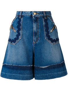 denim shorts  Sonia Rykiel