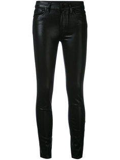 Hoxton coated cropped jeans Paige