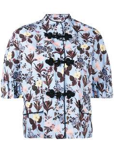 floral pattern cropped blazer Vivetta
