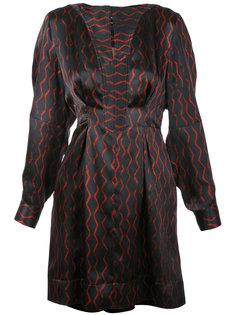 короткое платье в полоску Isabel Marant