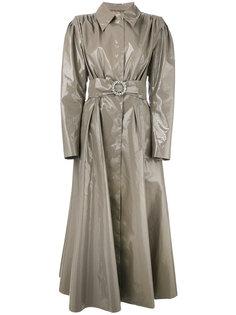 long vinyl trench coat Alessandra Rich