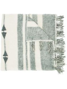 объемный шарф в полоску Denis Colomb
