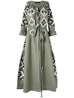платье с вышивкой Fatimas Eye Vita Kin