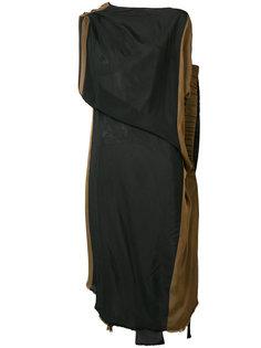 асимметричное платье-миди Uma Wang