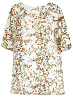 floral embroidered blouse Janiero