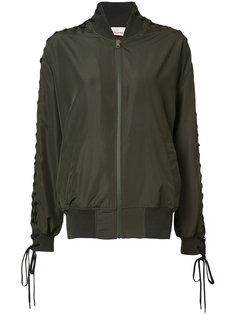 куртка-бомбер Vintage со шнуровкой на рукавах  A.F.Vandevorst