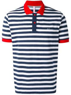 striped polo shirt Sun 68