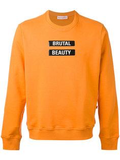 statement sweatshirt  Walter Van Beirendonck