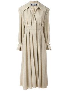 плиссированное длинное пальто Jacquemus