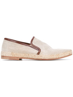 leather trim espadrille  N.D.C. Made By Hand