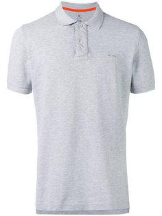 футболка-поло с принтом-надписью на спине Parajumpers