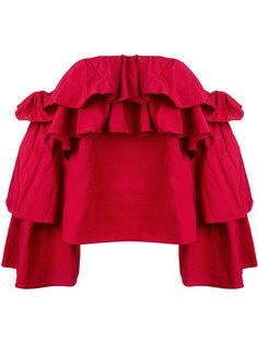 блузка с открытыми плечами Flavie  Erika Cavallini