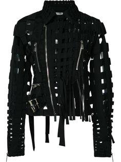 cut-out biker jacket Comme Des Garçons Noir Kei Ninomiya