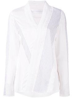 v-neck blouse Victoria Victoria Beckham