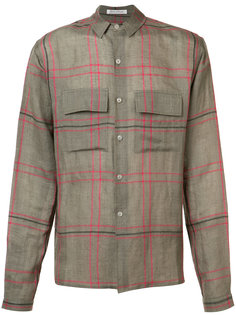 checked shirt Denis Colomb