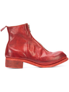 front zip ankle boots Guidi
