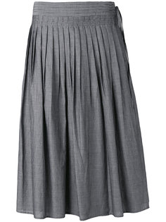 striped pleated skirt Vince