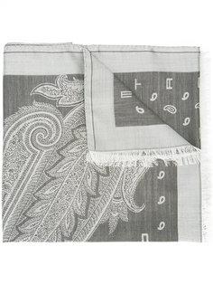 fringed shawl Etro
